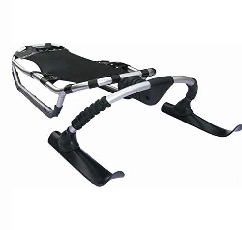 Rayuwen Slittino Alluminio Sci Skooter Slitta da Neve All'Aperto Slittamento Racer Pattinaggio su di Alta qualità