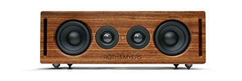 RÖTH & MYERS Bosk Speaker - Altavoz Inálambrico, diseño Único en Madera...