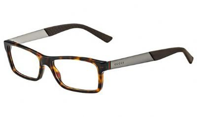 Gucci 1054 Web Tortoise / Dark Ruthenium Kunststoffgestell Brillen, 53mm (Web Gucci)