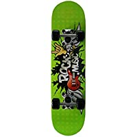 Skateboard SkateMax Junior ROCK MUSIC per bambini 5/6 anni - verde (blu)