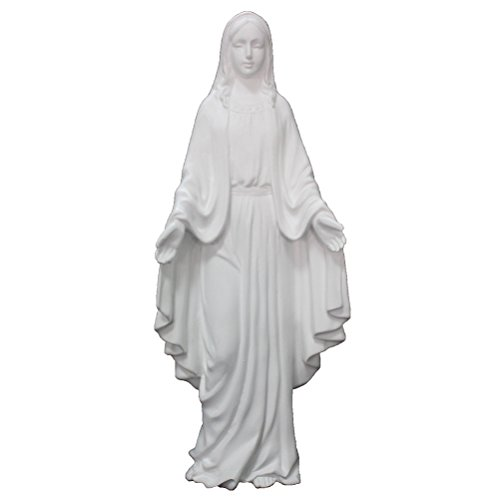 blessed-virgin-mary-pure-color-blanco-hecho-de-resina