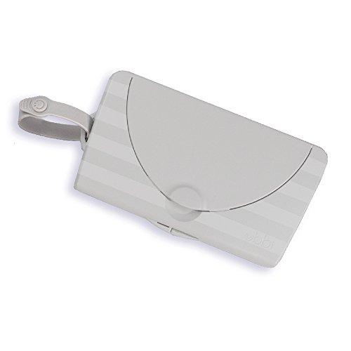 Ubbi On The Go - Dispensador de toallitas, color gris