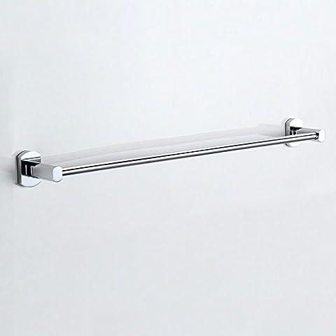 GGHYYO Bath Towel Rail Toilet Single Lever The Bathrooms The Punch 70Cm Copper