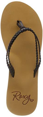 Roxy Costas, Chaussures de Plage & Piscine Femme, Noir (Black Blk), 38 EU