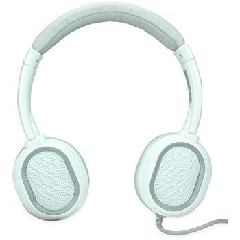 Amkette Trubeats Nirvana Over-Ear Headphone with Mic (White)
