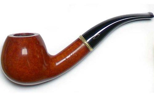 Kit Brebbia prima pipa liscio forma 834 - Half bent apple