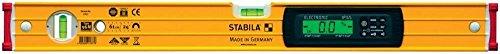 STABILA Elektronik-Wasserwaage Type 196-2 M electronic IP 65, 183 cm, mit Seltenerd-Magnetsystem und 2 Digital-Displays