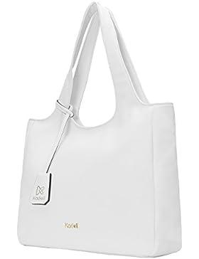 Kadell Frauen Einkaufstasche Einfache Entwerfer-Handtasche für Damen weiche PU lederne Schulter Beutel