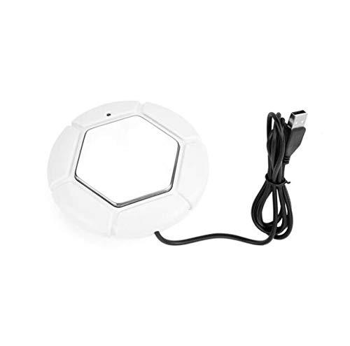 WG Elektrische Tassenwärmer USB Tassenwärmer Mode Metall Milch Wärmedämmplatte Tee Getränkebecher Wärmer Für Office & Home