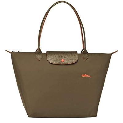 Longchamp - Bolso de hombro de Lona mujer
