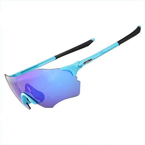 Glücklich zusammen Marathon-Cross-Country-Laufbrillen im Freien Sportreiterbrillen Winddichte Sand-Mountainbike-Sonnenbrille (Color : #5)