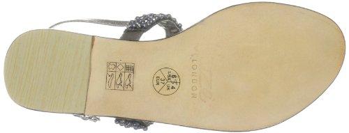 Unze Evening Sandals, Damen Sandalen Pink (L18301W)
