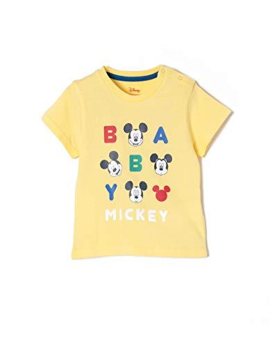 ZIPPY Ztb03l11_455_2 T-Shirt Jaune (Aspen Gold 1662) 98 (Taille Fabricant: 24/36M) Bébé garçon