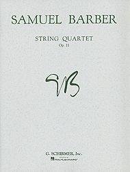 Samuel Barber: String Quartet Op.11 (Parts). Für Streichquartett