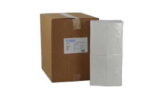 Tafelserviette, 3 lagig, hochweiß 40 x 40 cm 1/8Falz, 4er Pack (4 x 250 Stück) 4pk Servietten