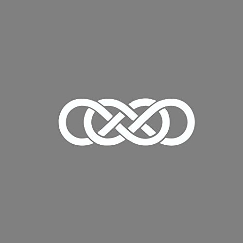 Double Infinity - Stofftasche / Beutel Grau
