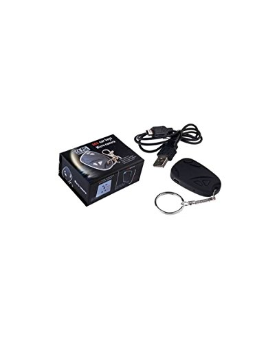 LKM Security lkm-spys02Abhörgerät versteckte Mini DVR mit Slot SD, schwarz, Modern