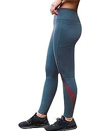 1e35def02c27 Kword Pantaloni Sportivi Aderenti da Donna Pantaloni di Yoga Donne In Vita  Pantaloni Allenamento Elastico Athleisure Leggings Donna Tuta Donna…
