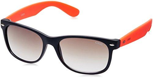 IDEE Gradient Wayfarer Unisex Sunglasses (IDS1844C10SG|54|Brown lens) image
