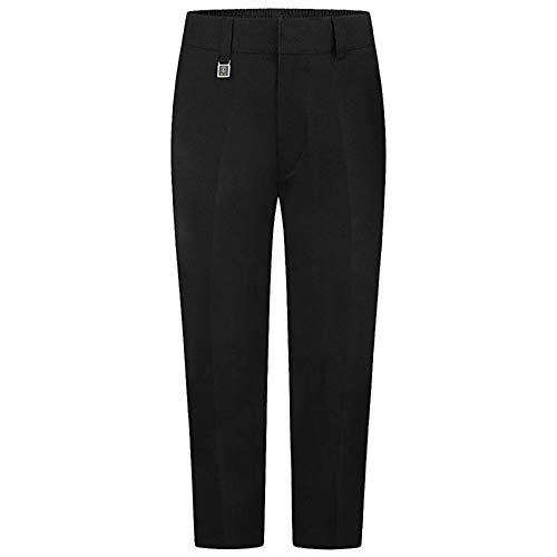 Sturdy Fit Boys School Trousers Black, Grey, Charcoal and Navy (Plus Size)
