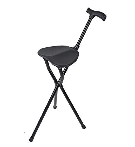 Tragbare Klapp Bare Aluminiumrohr Hocker Rohrsitz Multi-Funktions-Rohr-Stativ-Rohr-Stuhl Mit Sitz Älteren Walker Behindertenhilfe