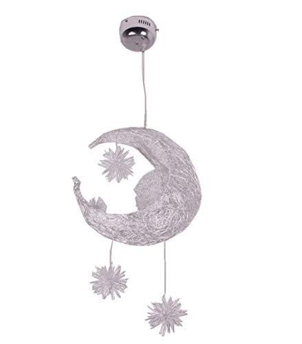 Lucky Star Bleie Seidensterne Mond Kreativ Persönlichkeit Kronleuchter Restaurant Bar Schlafzimmer Warmes Licht Einfach Kind Zimmer Lampen