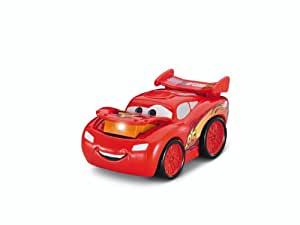 Fisher-Price - Cars 2 - W1661 - Vehicule Miniature - Garage - Lampe Torche Cars - Flash McQueen