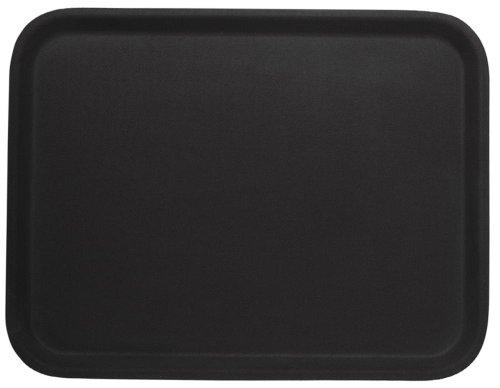 Contacto Tablett, rechteckig,rutschhemmend 61 x 43 cm, schwarz