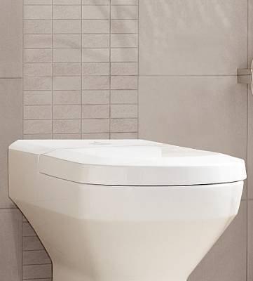 Preisvergleich Produktbild Villeroy & Boch Sentique WC-Sitz mit quick-release und softclosing Scharnieren; weiß