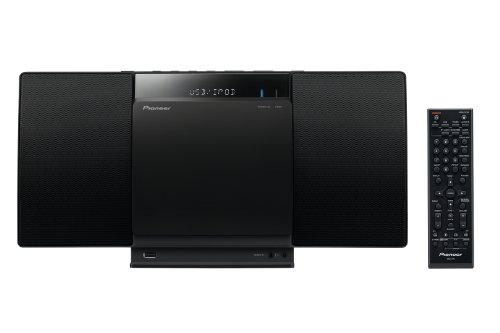 Stereo Dock Ipod Cd Player (Pioneer X-SMC01BT-K Micro Hifi-System (2x 10 Watt, Front-USB, CD-Laufwerk, Bluetooth) schwarz)