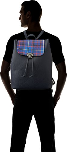 Tommy Hilfiger Effortless Novelty Backpack Print, Zaino Donna, 15.5 x 36 x 30.5 cm (W x H x L) Multicolore (Tommy Navy/ Tartan)