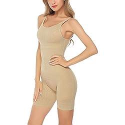 Aibrou Faja de Mujer Reductora Abdomen Sin Costuras Faja Moldeadora Mujer Fiesta Body Reductor Talla Grande