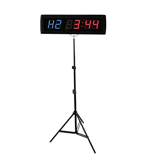 BT 1.8 intervalo LED reloj pared Count abajo/arriba