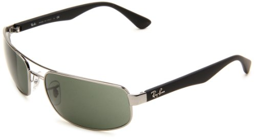 ray-ban-men-mod-3445-sunglasses-gunmetal-gunmetal-size-61