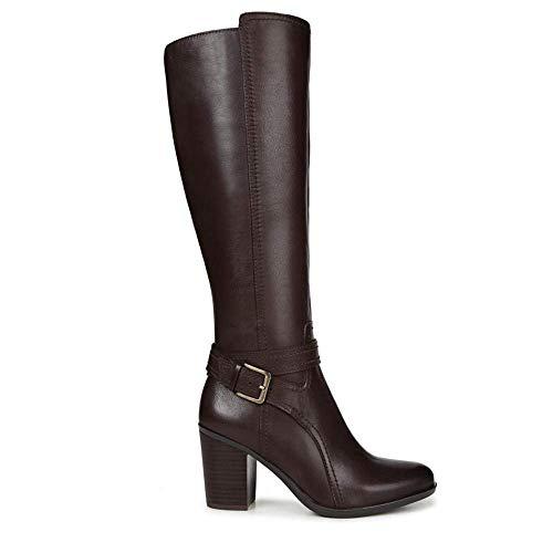 Naturalizer Frauen Stiefel Braun Groesse 8 US /39 EU - Naturalizer Wide Calf Boots