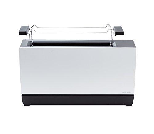 Jacob Jensen Designer One Slot Toaster II, Aluminium by Jacob Jensen