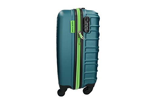31clegSPKRL - Maleta rígida PIERRE CARDIN petróleo mini equipaje de mano ryanair VS187