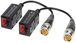 Rupika Infotech 60 Mtr AHD Video Balun (Black)