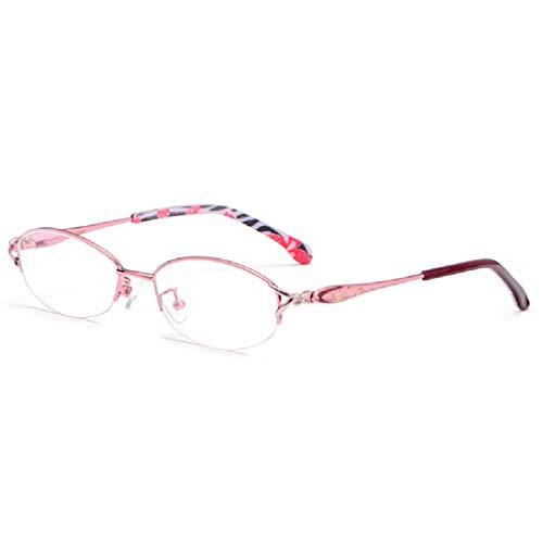 ZY Reading Glasses Intelligente Lesebrille mit automatischer Anpassung für weit und nahe beieinander liegende Mode Progressive Zoom Double Light Brille