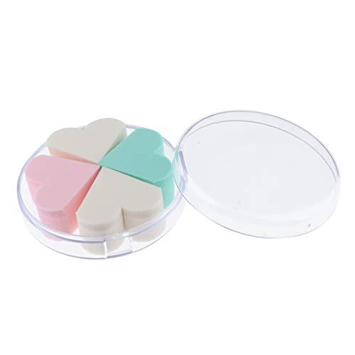Fenteer Blender éponge Maquillage Humide et Sec à Double Usage de maquillage Eponge Coussin d'Air Houppette pour Poudre de Talc CC BB Crème Teint liquide
