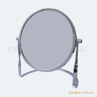 Desktop specchio cosmeticoDouble-sided glassSpecchio di metallo