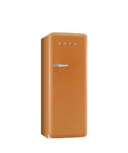 Smeg FAB28RO1 Standkühlschrank / A++ / 248 L / Orange / mit integriertem Gefrierteil / Rechtsanschlag