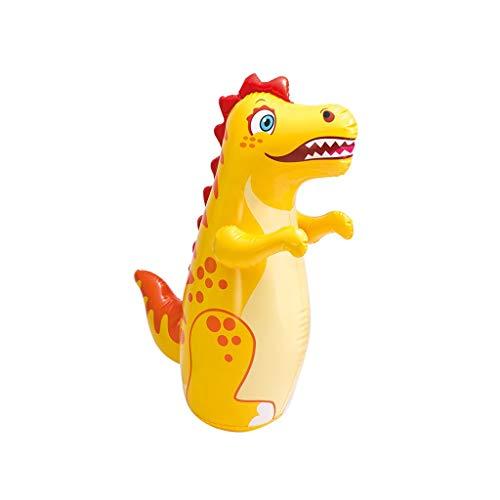 W-SHYP Aufblasbare Tumbler Spielzeug Training Fitness Boxen Kampf Bag Airbag (Farbe : Gelb)