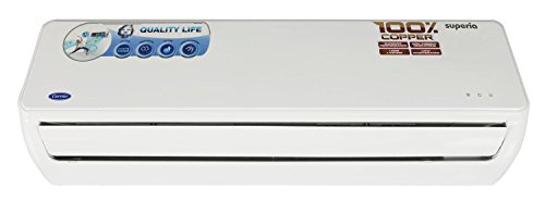 Carrier Superia Split AC (1.5 Ton, 5 Star Rating, White)