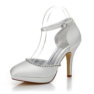 Zormey Frauen Heels Herbst Winter Club Schuhe Komfort Einfärbbar Schuhe Seide Hochzeit Im Freien Büro- & Amp; Karriere Party & Amp; Abendkleid Stiletto Heelbuckle US10.5 / EU42 / UK8.5 / CN43