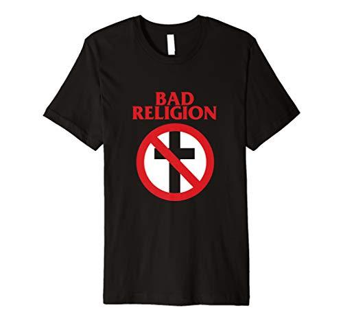 Bad Religion Crossbuster Punk Logo T-Shirt - Official Merch