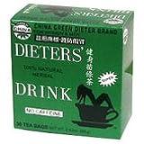 Oncle Lee Chine Thé vert diète caféine gratuites - 30 sachets de thé