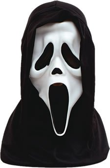 Scream Mask White