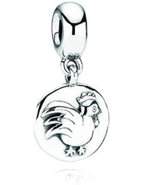 Pandora Damen-Bead Anhänger Chinesisches Sternzeichen Hahn 790885