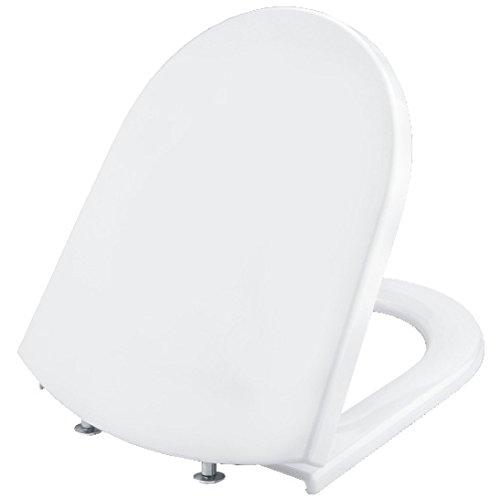 Cornat Spezial WC-Sitz für new day Kombination, Duroplast, rostfreie Edelstahl-Scharniere, 1 Stück, KSND00